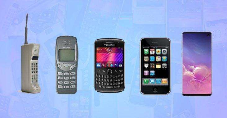 évolution du téléphone mobile