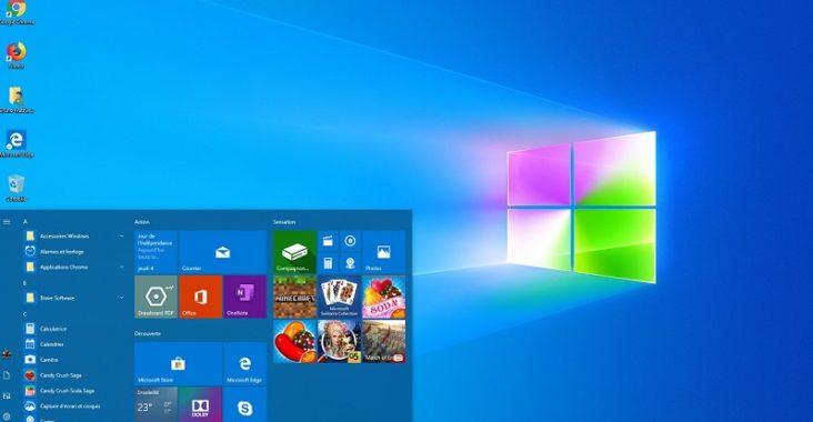 caractéristiques Windows 10